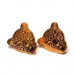 Boucles d'oreilles puce plaqué or