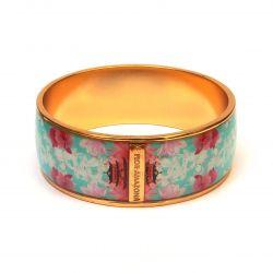 Bracelet émaillé turquoise - autre face