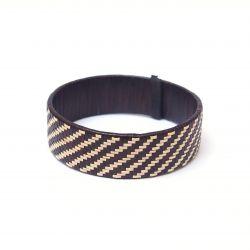 """Bracelet ethnique """"Caña Flecha"""" 1.5 cm"""
