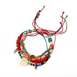 Bracelet multirang mandala femme