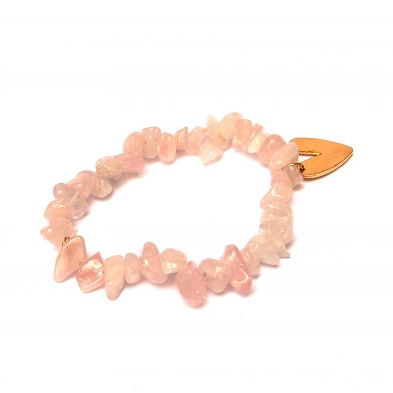 Bracelet quartz rose femme