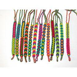 Bracelet wayuu coloré