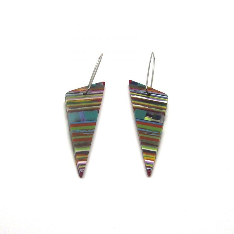 Boucles d'oreilles colorées