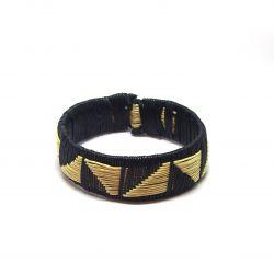Bracelet ethnique feuilles de Palmier