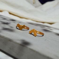 Bague ethnique plaquée or