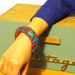 Bracelet bois et résine Alfonso Mendoça
