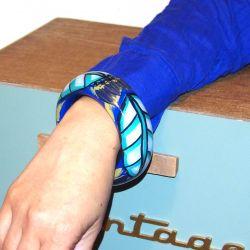 Bracelet bois et résine