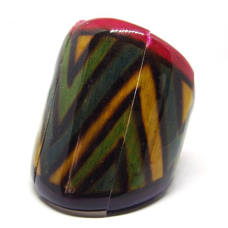 Bracelet manchette bambou