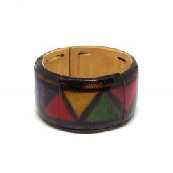 Bracelet émaillé bambou