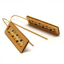 Boucles d'oreilles ethniques pendantes