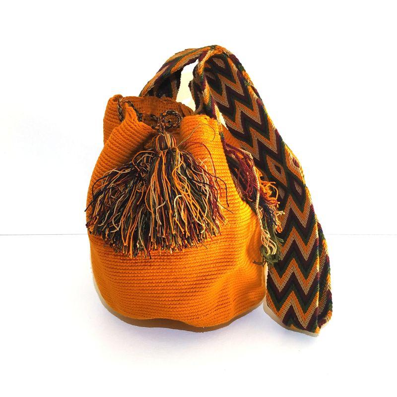 Mochila wayuu orange