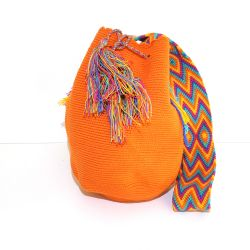 Mochila wayuu orange