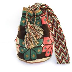 Mochila wayuu multicolore