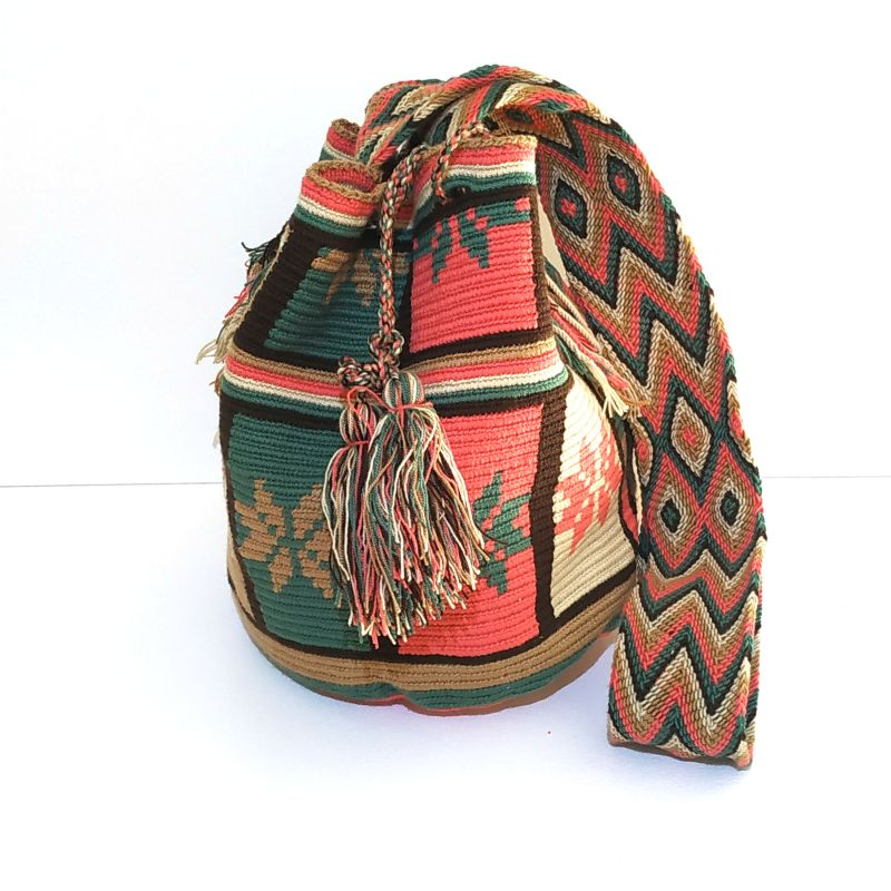 Mochila wayuu colorée