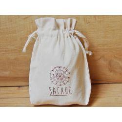 Collier ethnique plaqué or Achote avec sac packaging offert