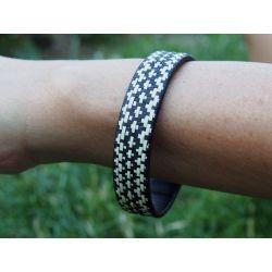 """Bracelet ethnique """"Caña Flecha"""" 1,2 cm - modèle 21"""