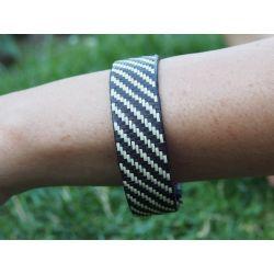 """Bracelet ethnique """"Caña Flecha"""" 1.5 cm - modèle 7"""