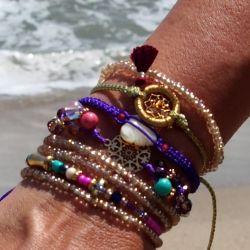Bracelet d'été multirang femme