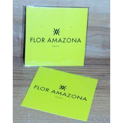 packaging bijoux Flor Amazona en carton vert